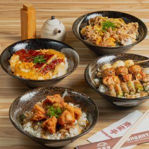 Donburi Menu 丼