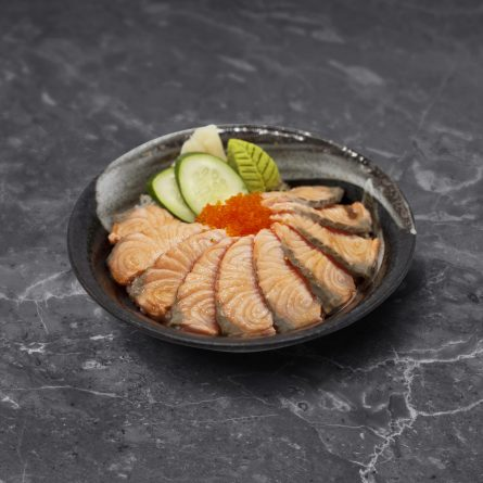 Aburi Salmon Don<br/> 炙りサーモン丼
