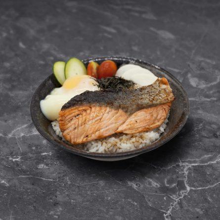 Salmon Teriyaki Don<br/> サーモン照り焼き丼