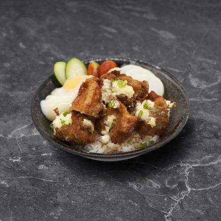 Tori Karaage Mayo Don<br/> 鶏から揚げマヨ丼