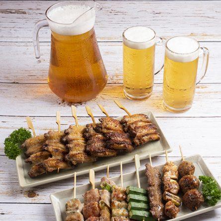 Tebasaki Platter Half/Half<br/> 手羽先盛り合わせ(6sticks)