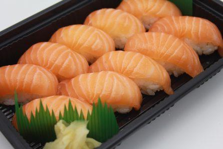 Salmon Sushi Tray<br/>えび天巻き寿司
